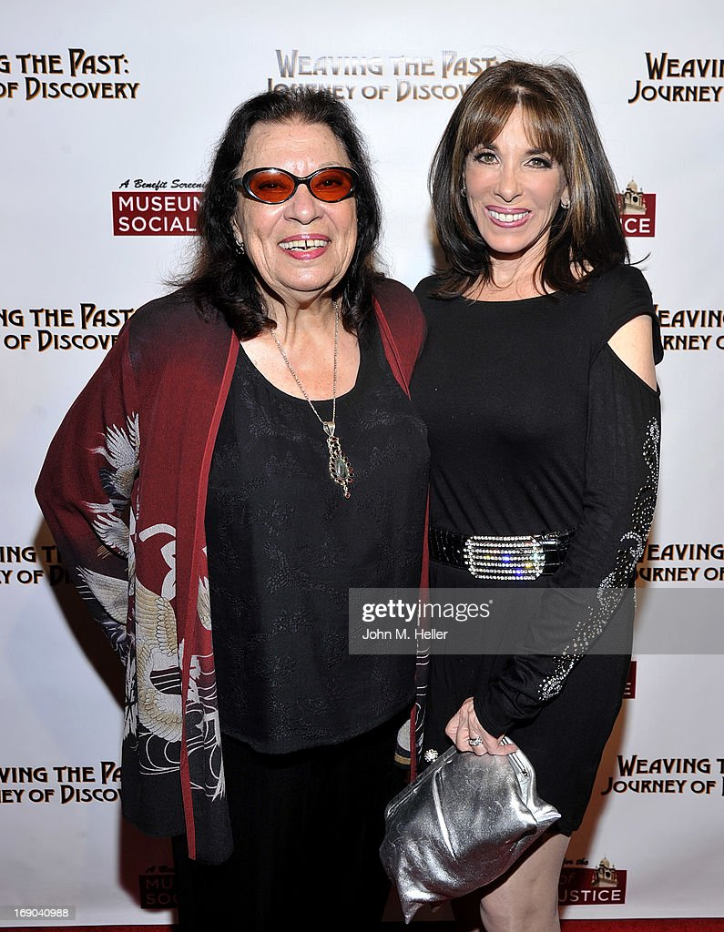 Actors Shelley Morrison and Kate Linder attend the screening of 'Weaving The Past: Journey Of Discovery' at the Linwood Dunn Theater at the Pickford Center for Motion Study on May 18, 2013 in Hollywood, California.