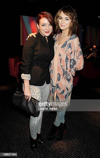 Actors Sheridan Smith and Kara Tointon attend an after party celebrating the press night performance of 'Absent Friends' at Mint Leaf restaurant on...