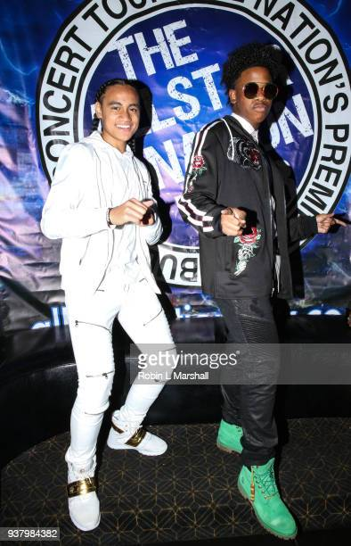 "Actors Siaki Sii and Simeon Johnson attend the ""Rise Up Against Bullying"" Concert at Avalon on March 25, 2018 in Hollywood, California."