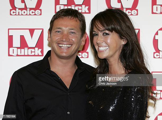 Actors Sid Owen and Sheree Murphy arrive at the TV Quick and TV Choice Awards at the Dorchester Hotel Park Lane on September 4 2006 in London England