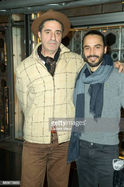 Actors Simon Abkarian and Assaad Bouab attend the 30th anniversary celebration of Institut du Monde Arabe Institut du Monde Arabe on December 4 2017...