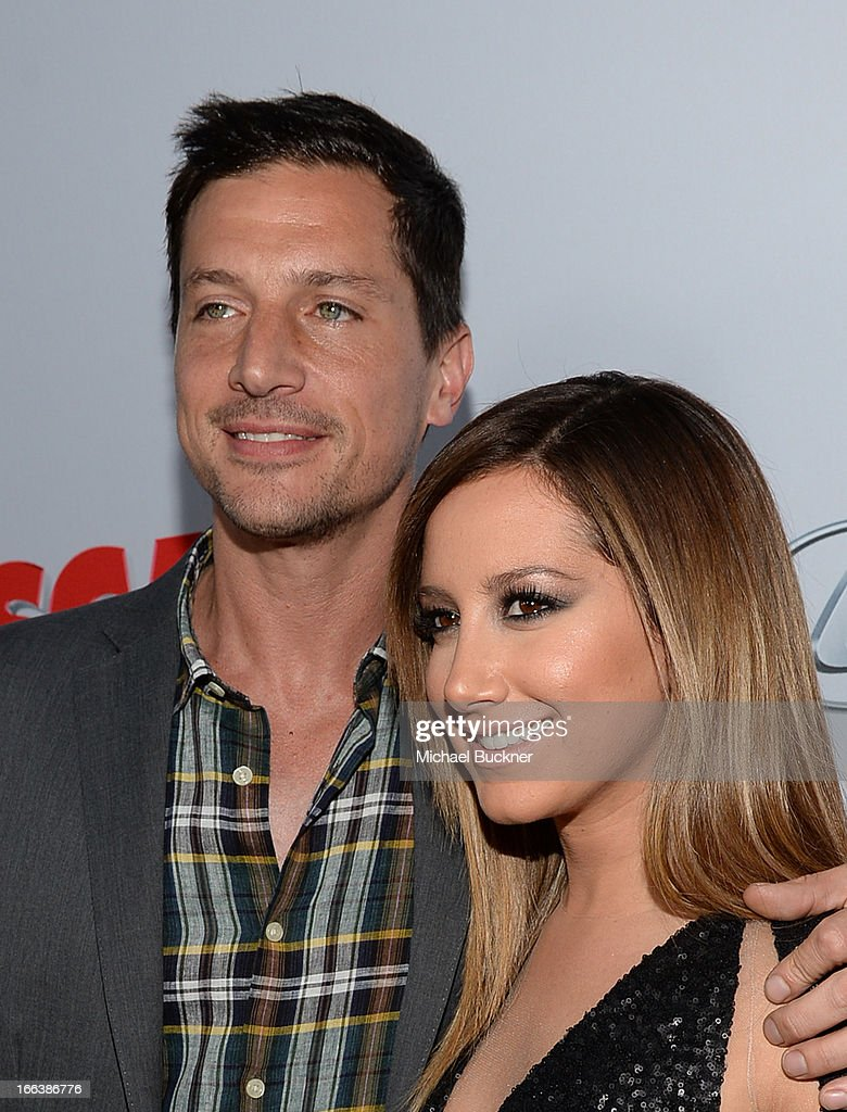 Actors Simon Rex And Ashley Tisdale Arrive For The Premiere Of News Photo Getty Images