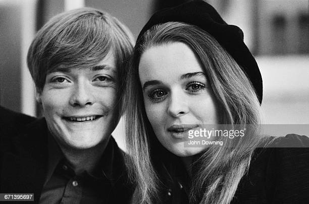 Actors Simon Ward and Sinead Cusack who are to appear in Shakespeare's 'Romeo and Juliet' at the Shaw Theatre London UK 8th February 1971