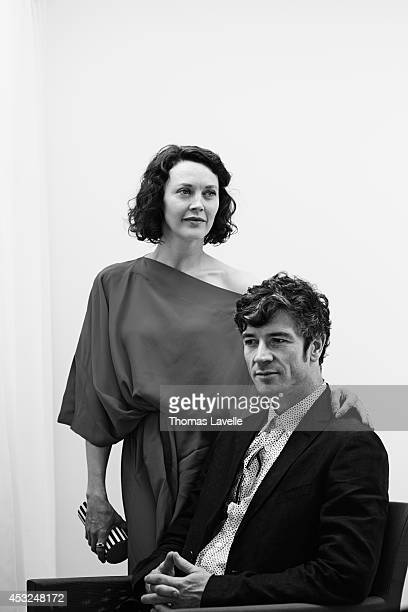 Actors Simone Kirby and Barry Ward are photographed for Self Assignment on May 22 2014 in Cannes France