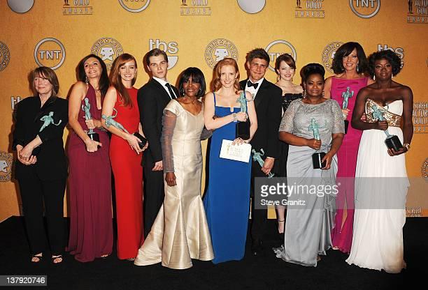 Actors Sissy Spacek Mary Steenburgen Ahna O'Reilly Brian Kerwin Cicely Tyson Jessica Chastain Chris Lowell Emma Stone Octavia Spencer Allison Janney...