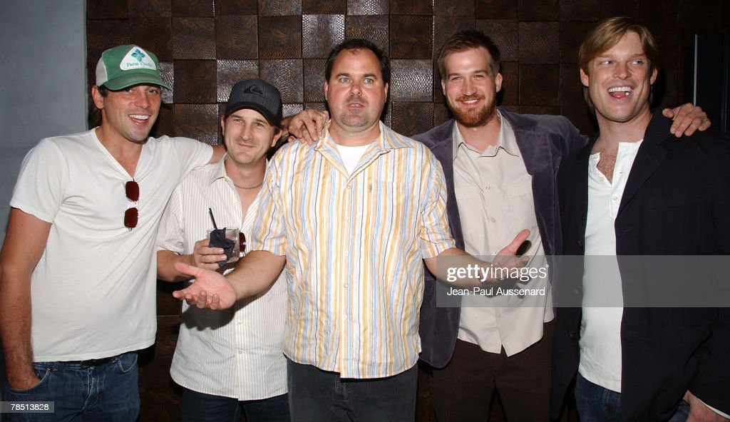 Actors Skeet Ulrich, Richard Speight Jr., Bob Stephenson, Kenneth Mitchell and Brad Beyer attend the Jericho first season DVD launch party held at Crimson on October 2nd, 2007 in Hollywood, California.