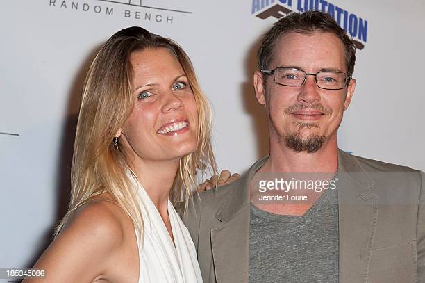 Actors Sofia London and Jason London attend the premiere of 'Toad Road' at Arena Cinema Hollywood on October 18 2013 in Hollywood California