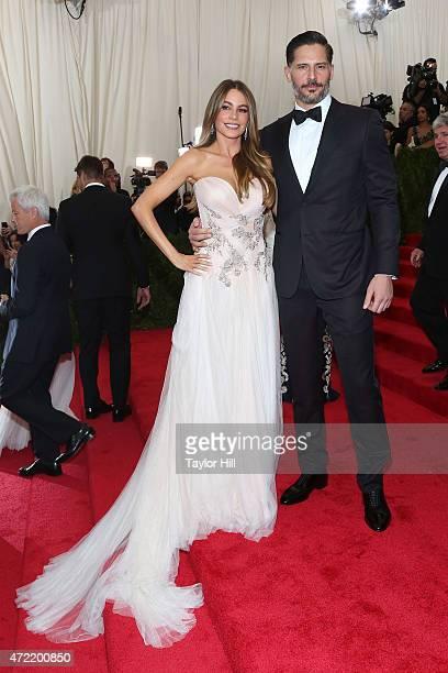 Actors Sofia Vergara and Joe Manganiello attend 'China Through the Looking Glass' the 2015 Costume Institute Gala at Metropolitan Museum of Art on...