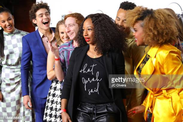 Actors Sofia Wyle, Joshua Bassett, Kate Reinders, Larry Saperstein, Mark St. Cyr, Monique Coleman, Julia Lester, Dara Renee, Olivia Rodrigo, and...