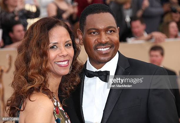 Actors Sondra Spriggs and Mykelti Williamson arrive at the 23rd Annual Screen Actors Guild Awards at The Shrine Expo Hall on January 29 2017 in Los...