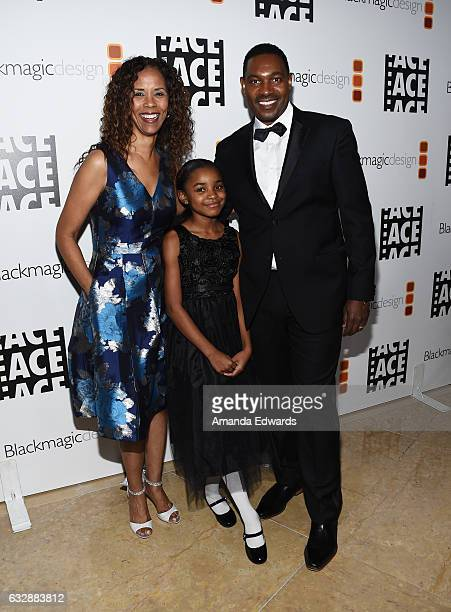 Actors Sondra Spriggs Saniyya Sidney and Mykelti Williamson arrive at the 67th Annual ACE Eddie Awards at The Beverly Hilton Hotel on January 27 2017...