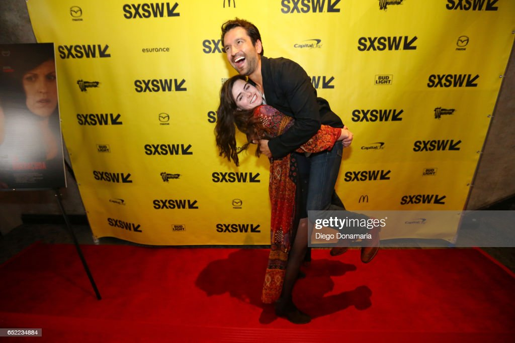 Actors Sophie Reid (L) and Luis Bordonada attend the premiere of 'La Barracuda' during 2017 SXSW Conference and Festivals at Stateside Theater on March 11, 2017 in Austin, Texas.