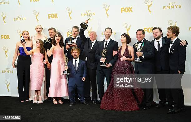 Actors Sophie Turner Gwendoline Christie Maisie Williams Nikolaj CosterWaldau Carice van Houten writer/director David Benioff actors Peter Dinklage...