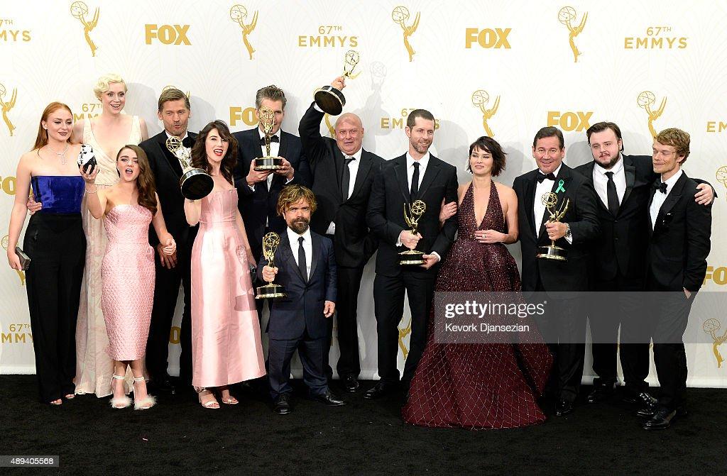67th Annual Primetime Emmy Awards - Press Room : Fotografía de noticias