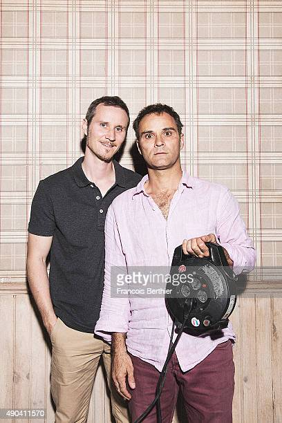 Actors Soren Prevost and Erling Prevost are photographed for Gala on July 10 2015 in Paris France