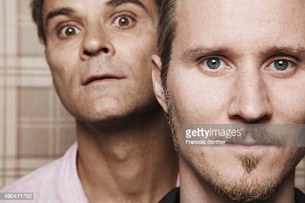 Actors Soren Prevost and Erling Prevost are photographed for Gala on July 10, 2015 in Paris, France.
