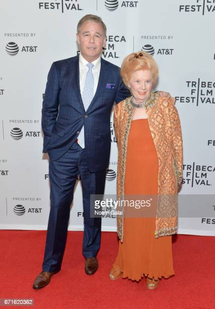 Actors Spencer Garrett and Kathleen Nolan attend the Dog Years Premiere during 2017 Tribeca Film Festival at Cinepolis Chelsea on April 22 2017 in...