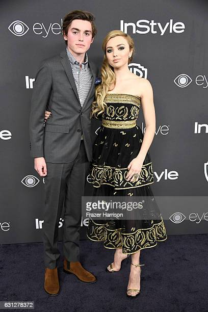 Actors Spencer List and Peyton List attend the 18th Annual PostGolden Globes Party hosted by Warner Bros Pictures and InStyle at The Beverly Hilton...