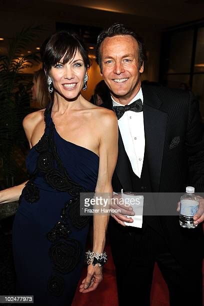Actors Stacy Haiduk and Doug Davidson attend the 37th Annual Daytime Entertainment Emmy Awards after party held at the Las Vegas Hilton on June 27...