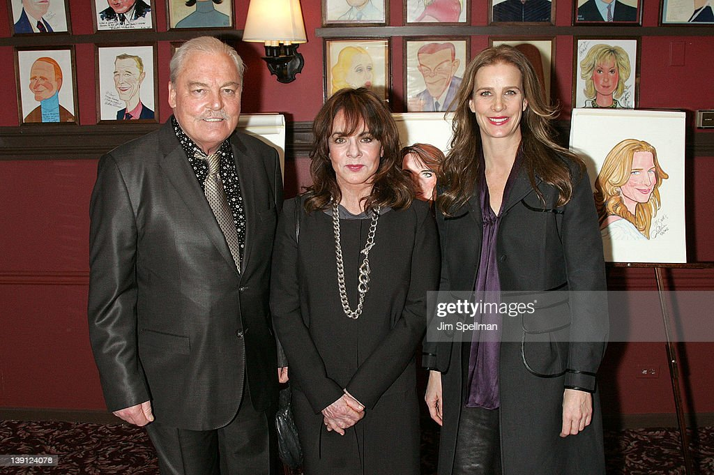 Stockard Channing, Rachel Griffiths & Stacy Keach Sardi's Caricatures Unveiling