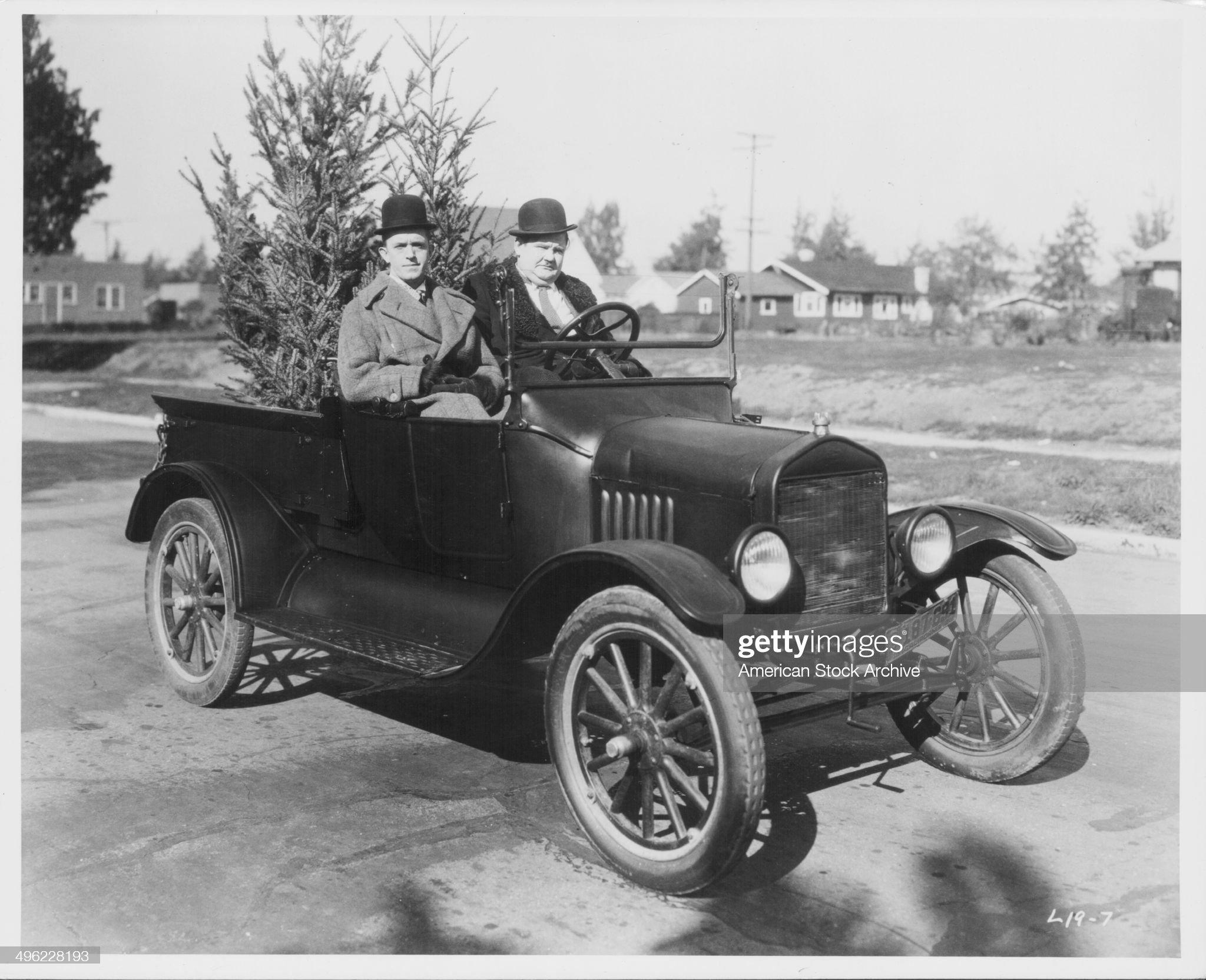 Laurel And Hardy : News Photo