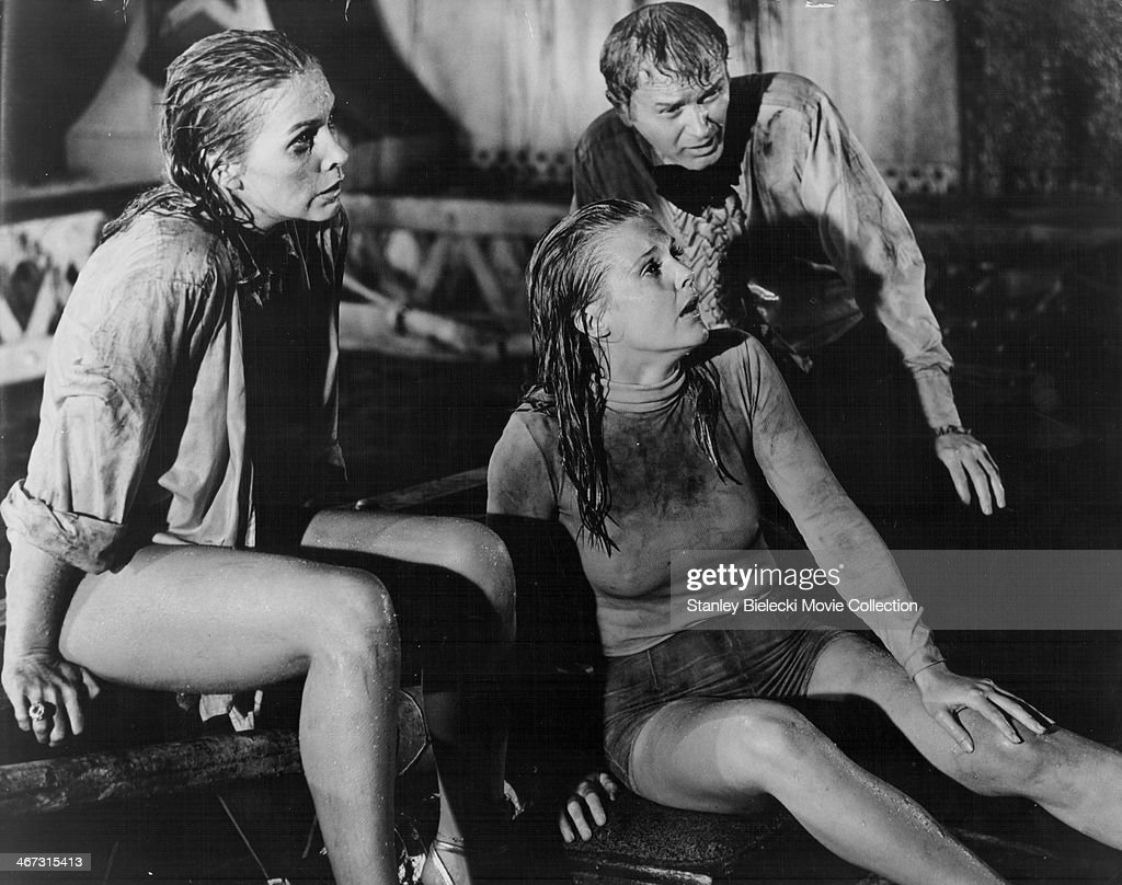 Actors Stella Stevens Carol Lynley And Red Buttons In A