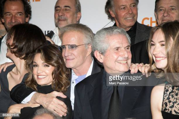Actors Stephane de Groodt Marianne Denicourt Nadia Fares Antoine Dulery Christophe Lambert Michel Leeb director Claude Lelouch Francis Huster and...