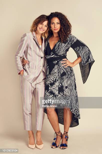 Actors Stephanie Szostak and Christina Moses of ABC's 'A Million Little Things' pose for a portrait during the 2018 Summer Television Critics...