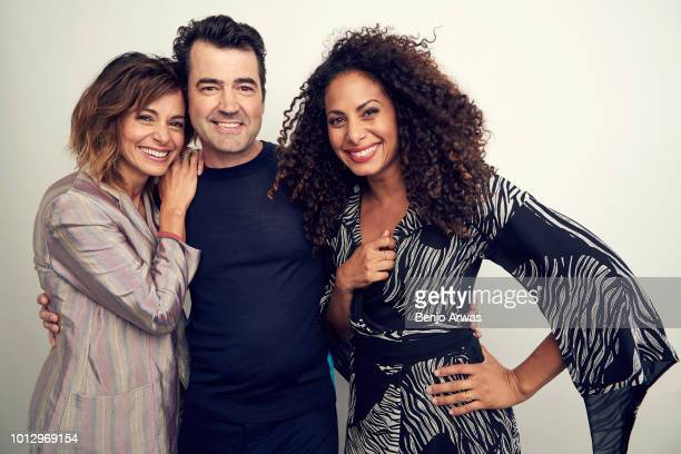 Actors Stephanie Szostak Ron Livingston and Christina Moses of ABC's 'A Million Little Things' pose for a portrait during the 2018 Summer Television...