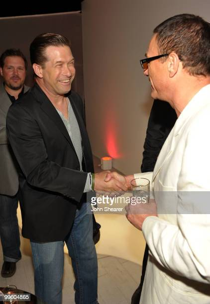 Actors Stephen Baldwin and JeanClaude Van Damme attend the Variety Celebrates Ashok Amritraj event held at the Martini Terraza during the 63rd Annual...