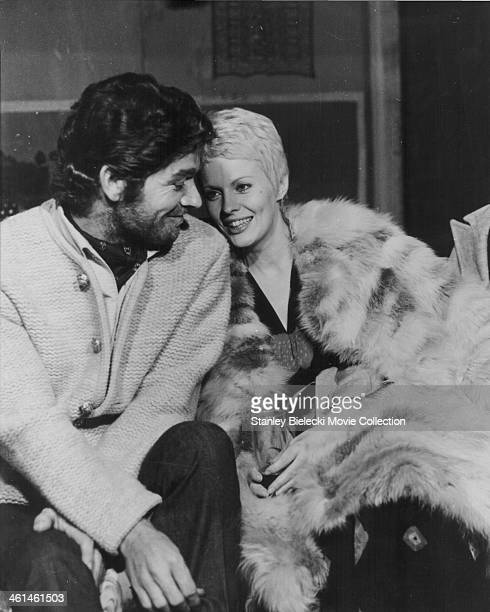 Actors Stephen Boyd and Jean Seberg star in the film 'Kill! Kill! Kill! Kill!', 1971.