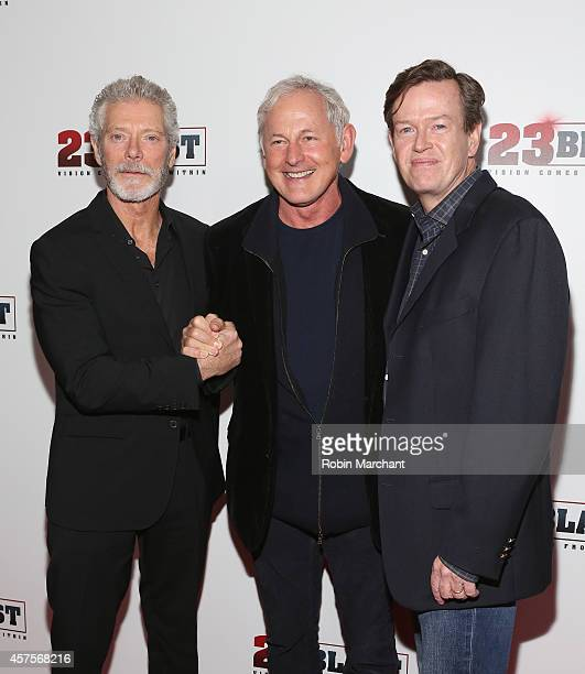 Actors Stephen Lang Victor Garber and Dylan Baker attend 23 Blast New York Premiere at Regal EWalk on October 20 2014 in New York City