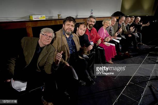 Actors Stephen Moore Michael Cule Rupert Degas Roger Gregg Susan Sheridan Simon Jones Geoffrey McGivern Philip Pope Geoffrey Perkins and Michael...