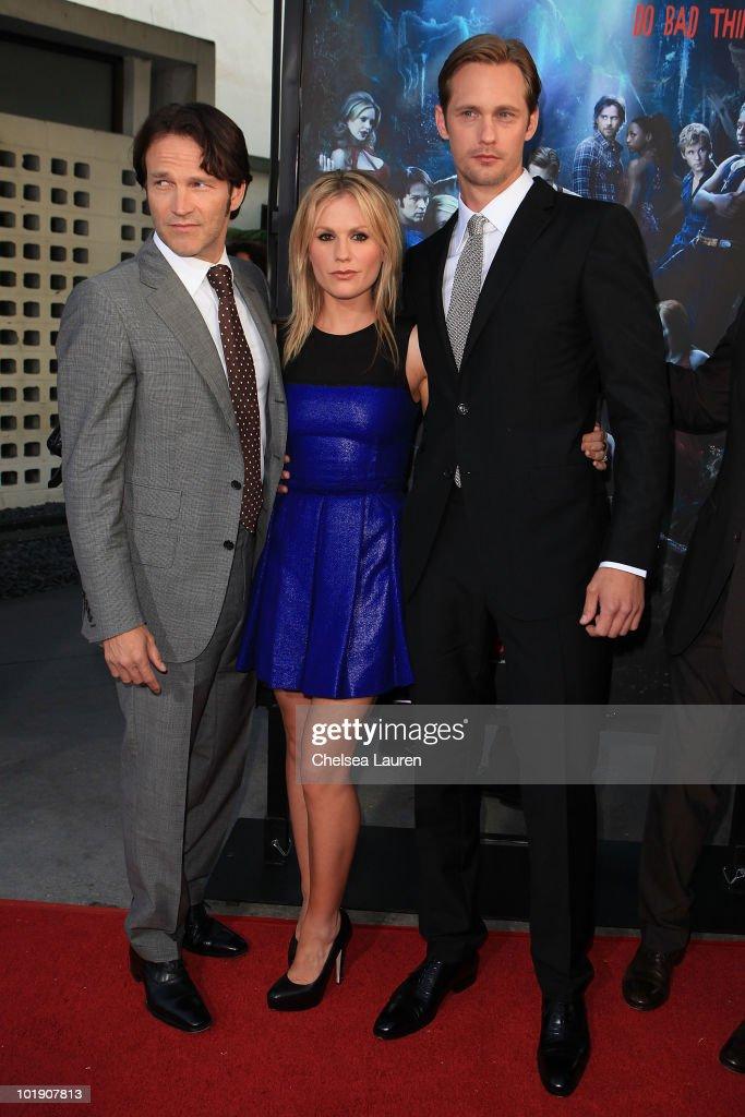 "HBO's ""True Blood"" Season 3 Premiere - Arrivals : News Photo"