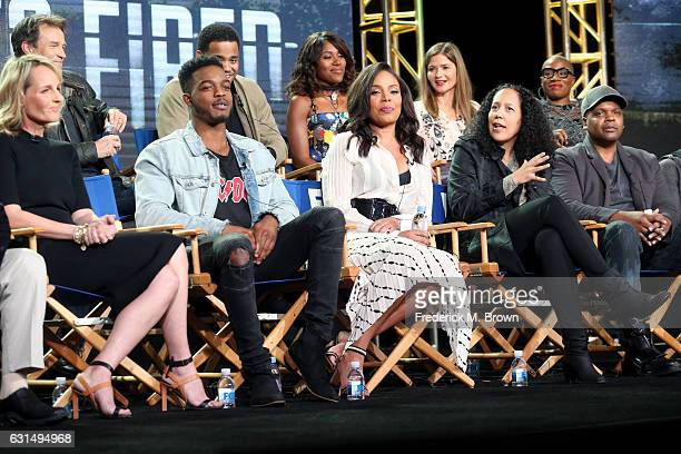 Actors Stephen Moyer Mack Wilds DeWanda Wise Jill Hennessy Aisha Hinds Helen Hunt Stephan James and Sanaa Lathan and Cocreators/Executive producers...