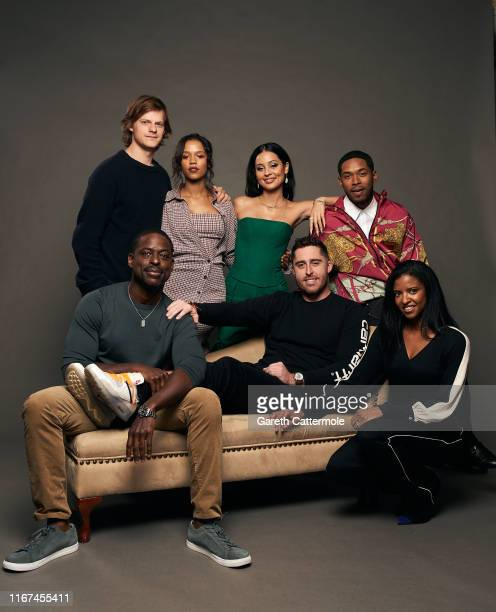Actors Sterling K Brown Lucas Hedges Taylor Russell and Alexa Demie director Trey Edward Shults and actors Kelvin Harrison Jr and Renée Elise...