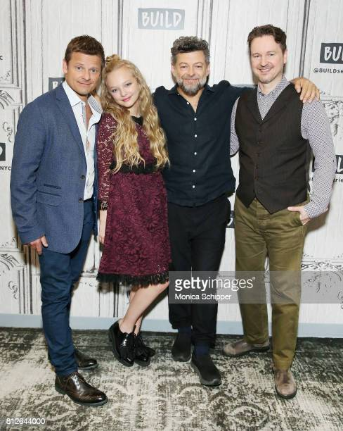 "Actors Steve Zahn, Amiah Miller and Andy Serkis, and director Matt Reeves discuss ""War For The Planet Of The Apes"" at Build Studio on July 11, 2017..."