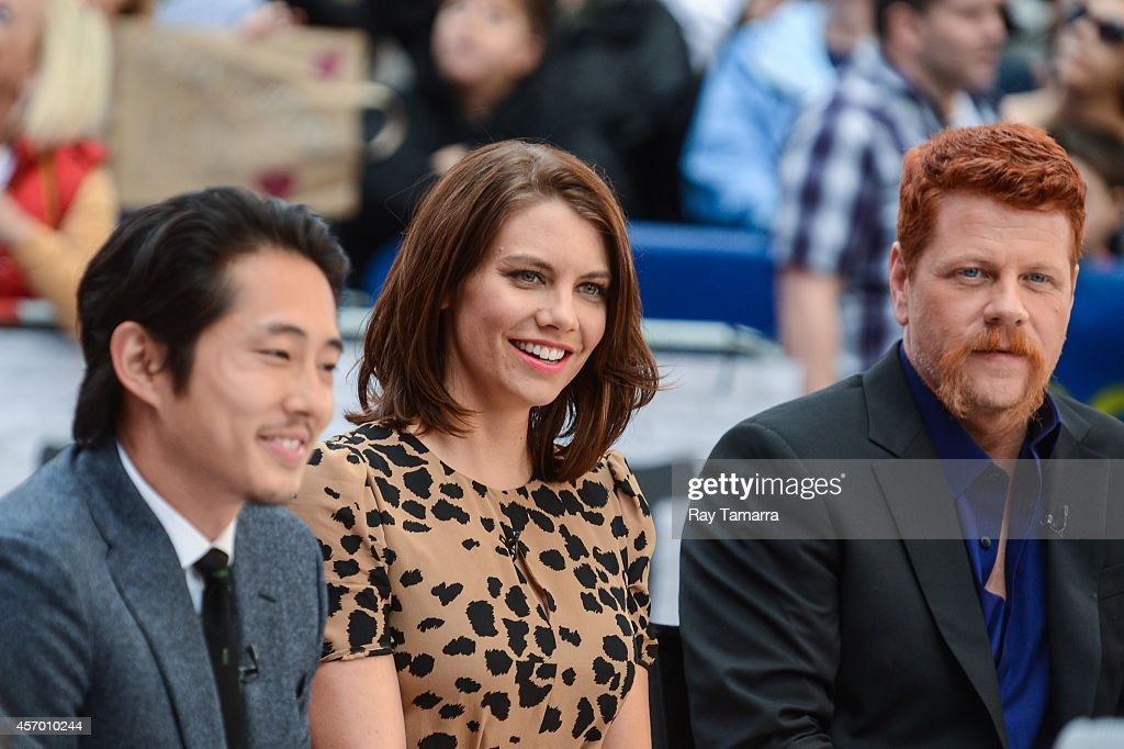 The Walking Dead's Glenn and Maggie: Reunited And It Looks ... |Lauren Cohan And Steven Yeun 2014