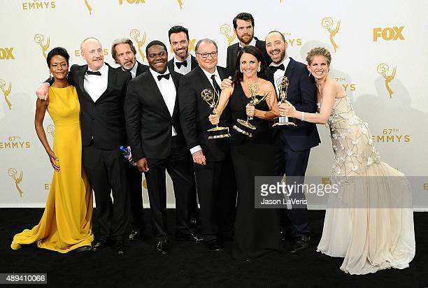 Actors Sufe Bradshaw Matt Walsh Gary Cole Sam Richardson Reid Scott Kevin Dunn Timothy Simons Julia LouisDreyfus winner of Outstanding Lead Actress...