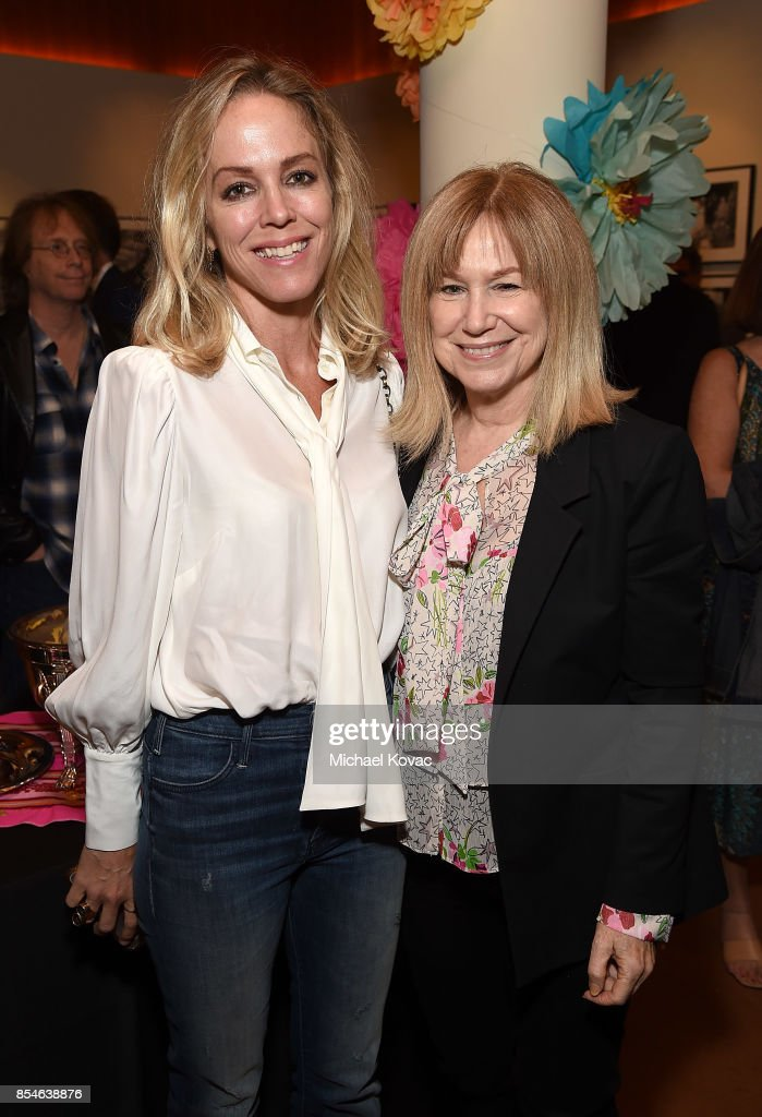 Actors Susan Carter Hall (L) and Mary Kay Place attend the after party for the Los Angeles premiere of 'Lucky' at Linwood Dunn Theater on September 26, 2017 in Los Angeles, California.