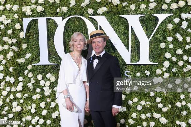 Actors Susan Lyons and Jefferson Mays attend the 71st Annual Tony Awards at Radio City Music Hall on June 11 2017 in New York City