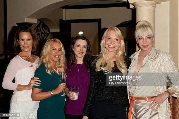 Actors Tamara Henry Darcy Ludwig Nancy O'Brien Tina Hillstom and Agnes Nicole Winter attend Kira Reed Lorsch Debuts On The Bay Series And Hosts...