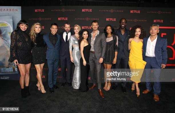 Actors Tamara Taylor, Dichen Lachman, Byron Mann, Kristen Lehman, James Purefoy, Martha Higareda, Joel Kinnaman, Renée Elise Goldsberry, Asto...