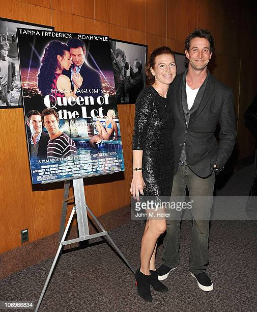 """Actors Tanna Frederick and Noah Wyle attend the premiere of """"Queen Of The Lot"""" at the Directors Guild of America on November 18, 2010 in Los Angeles,..."""