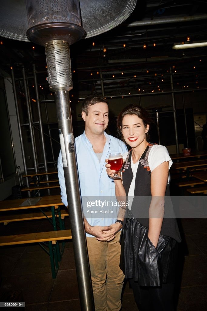 Taran Killam and Cobie Smulders, Entertainment Weekly, March 17, 2017