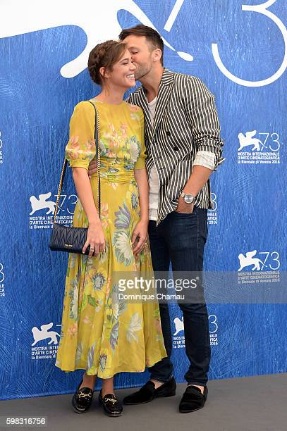 Actors Taylor Frey and Matilda Lutz attend a photocall for 'L'Estate Addosso Summertime' during the 73rd Venice Film Festival at on September 1 2016...