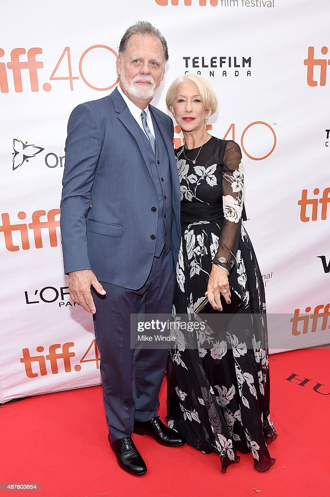 "2015 Toronto International Film Festival - ""Eye In The Sky"" Premiere - Arrivals : Fotografía de noticias"
