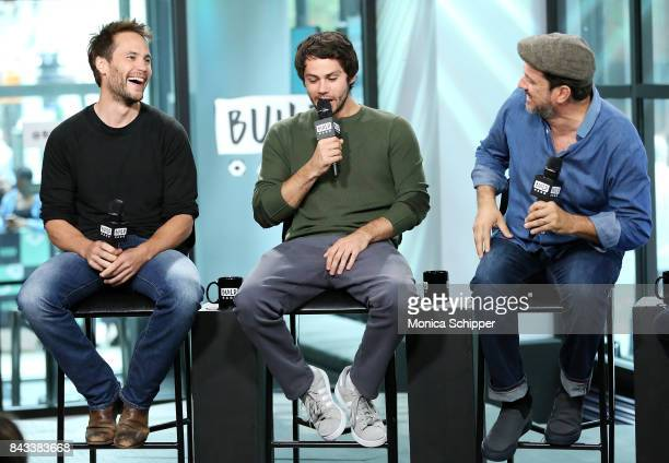 Actors Taylor Kitsch and Dylan O'Brien and director Michael Cuesta discuss their new movie American Assassin at Build Studio on September 6 2017 in...