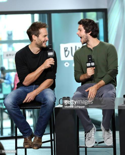 Actors Taylor Kitsch and Dylan O'Brien discuss their new movie American Assassin at Build Studio on September 6 2017 in New York City
