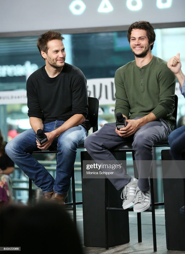 """Build Presents Dylan O'Brien, Taylor Kitsch & Michael Cuesta Discussing """"American Assassin"""" : News Photo"""